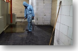 mastic removal brisbane, spraying mastic, foamshield